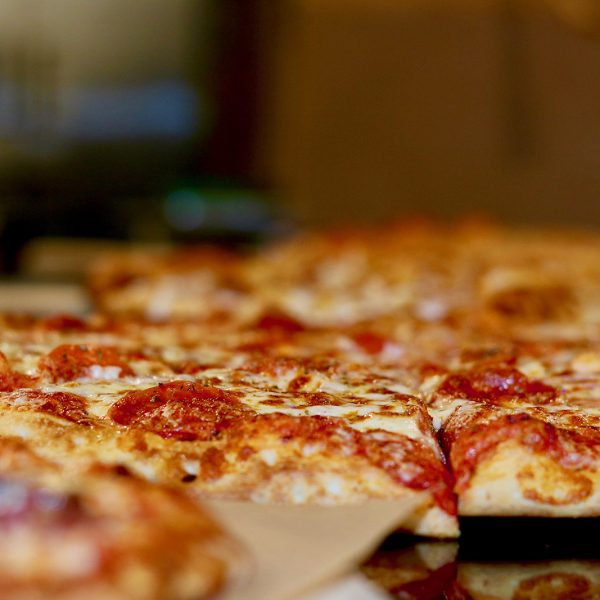 Fresh make-your-own pizza at Launch Trampoline Park